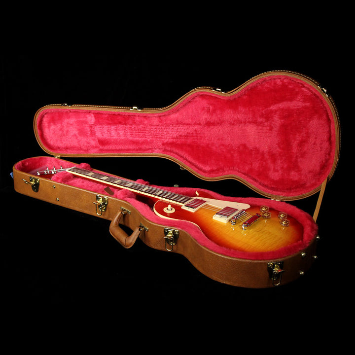 Used 2016 Gibson Les Paul Traditional Electric Guitar Cherry Sunburst 160001846