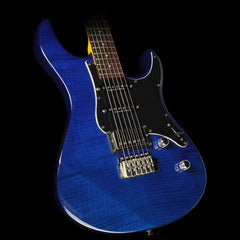 Yamaha PAC612VIIFM Limited Edition Pacifica Electric Guitar Translucent Blue