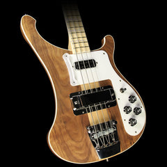 Used 2014 Rickenbacker 4003W Electric Bass Guitar Walnut