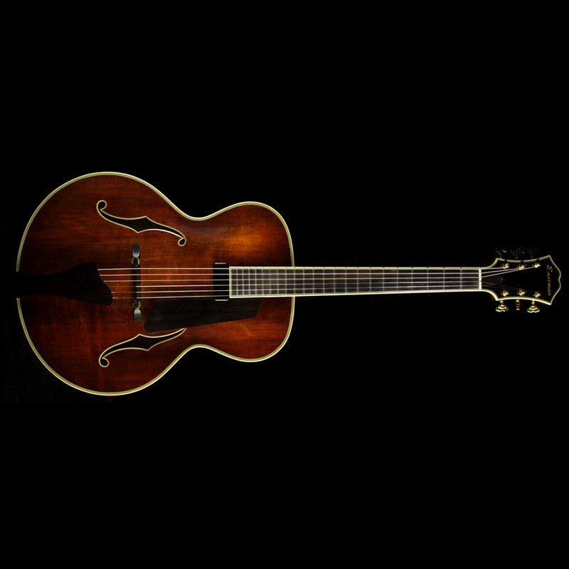 Used 2004 Eastman AR805E Archtop Electric Guitar Varnish 520