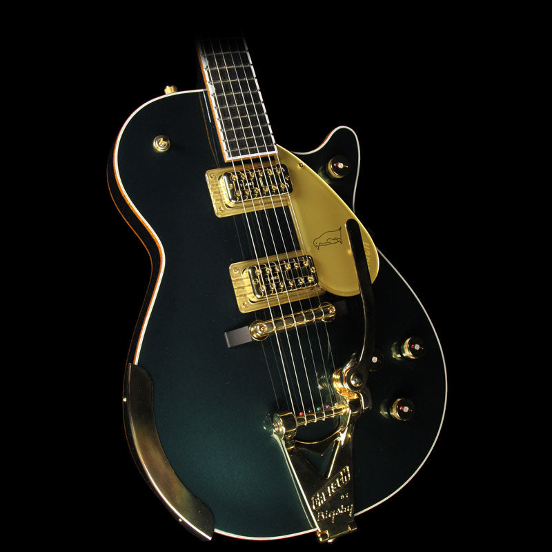 Used 2016 Gretsch G6134T-CDG LE Penguin Electric Guitar Cadillac Green JT16062189