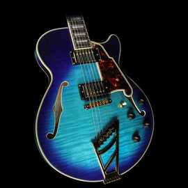 D'Angelico EX-SS Electric Guitar Blue Burst
