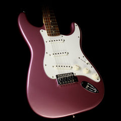 Used Squier By Fender Affinity Stratocaster Electric Guitar Burgundy Mist