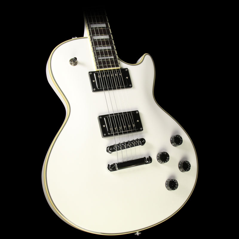 Used D'Angelico Premier SD Electric Guitar White DAPSDSWHCS