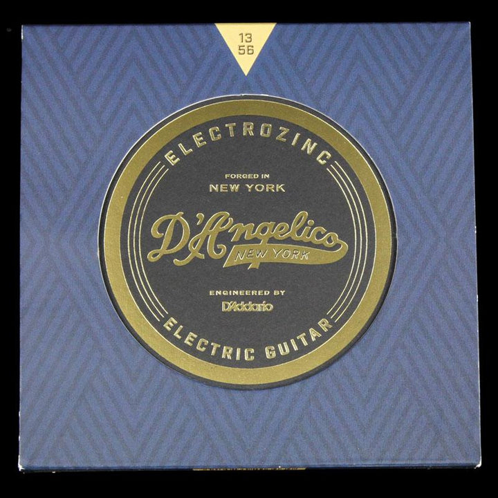 D'Angelico Electrozinc Jazz  Strings Electric Guitar Strings 13-56 DAJ1356