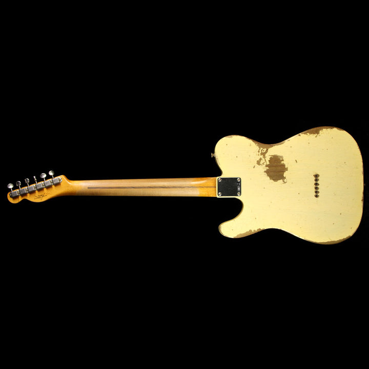 Used 2016 Fender Custom Shop '51 Roasted Ash Nocaster Electric Guitar Nocaster Blonde R15421