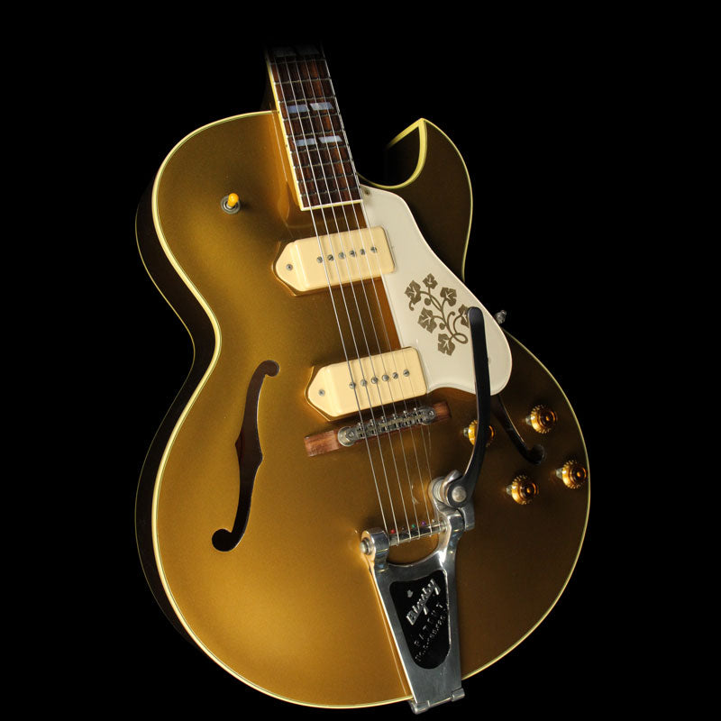 Used 2013 Gibson Memphis ES-295 Hollowbody Electric Guitar All Gold 91179013