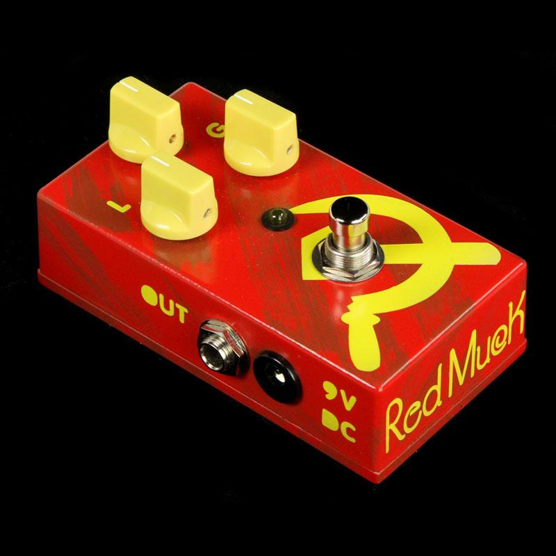 JAM Pedals Red Muck Fuzz/Distortion Effects Pedal RM