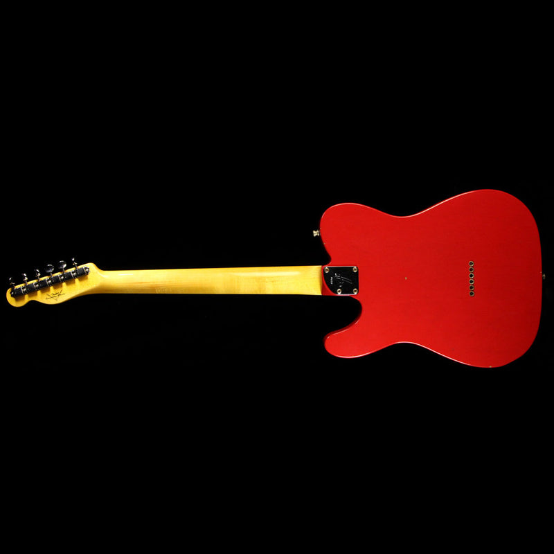 Used 2015 Fender Custom Shop Postmodern Telecaster Electric Guitar Dakota Red 390