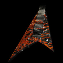 Used 2015 Jackson Custom Select Masterbuilt Pat McGarry RR-7 7-String Electric Guitar Cracked Mirror