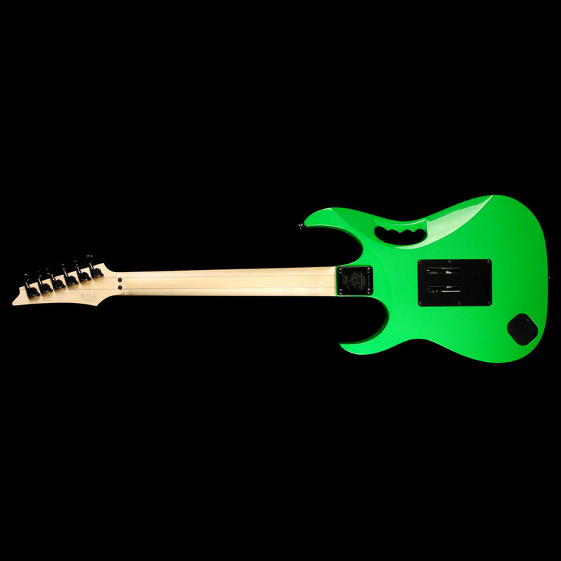Used 2017 Ibanez JEM777 30th Anniversary Electric Guitar Loch Ness Green F1633102