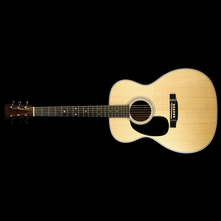 Used 2014 Martin 000-28 Left-Handed Acoustic Guitar Natural 1797166