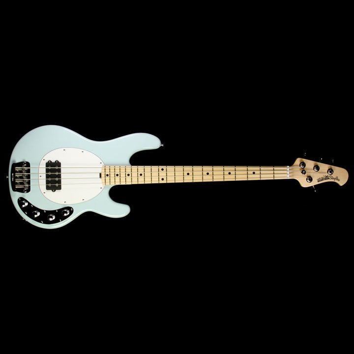 Used Ernie Ball Music Man StingRay Electric Bass Guitar Powder Blue C00541