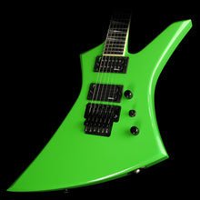 Used 2014 Jackson Custom Select KE2 Kelly Electric Guitar Kawasabi Green