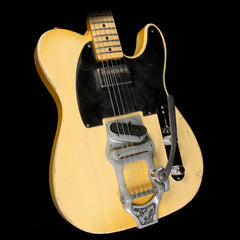 Fender Custom Shop Masterbuilt Paul Waller Bob Bain Son of a Gunn Telecaster Relic Electric Guitar Nocaster Blonde
