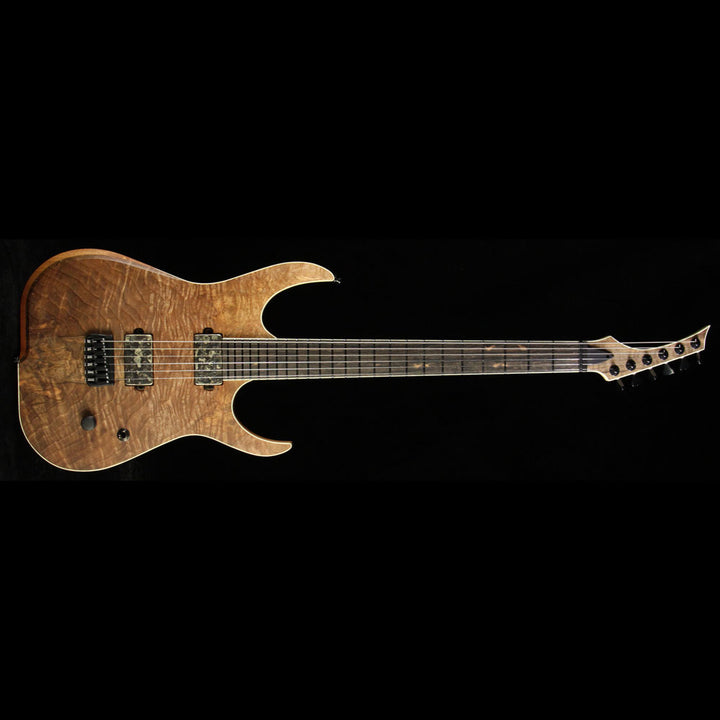 Skervesen Raptor 6 Electric Guitar Natural Satin Walnut Top 13721