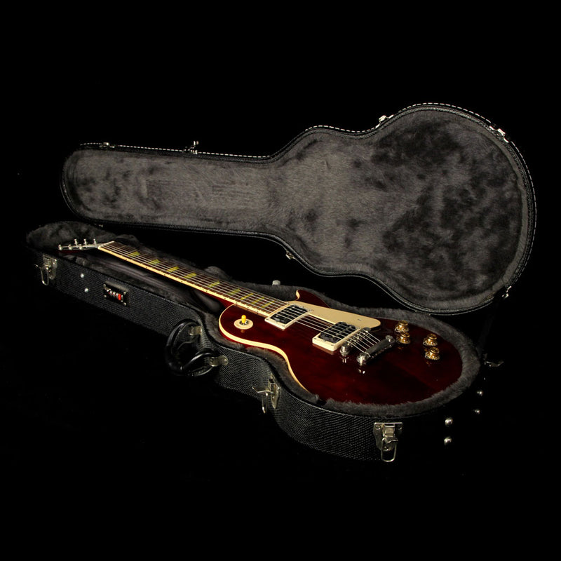 Used 2008 Gibson Les Paul Classic Electric Guitar Wine Red