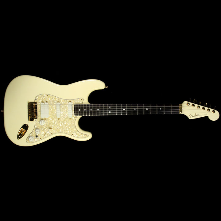 Used 1989 Fender Custom Shop Showmaster Electric Guitar Olympic White SE905340