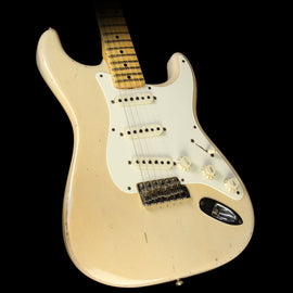 Used 2012 Fender Custom Shop Masterbuilt John Cruz 1957 Stratocaster Relic Electric Guitar Trans Blonde