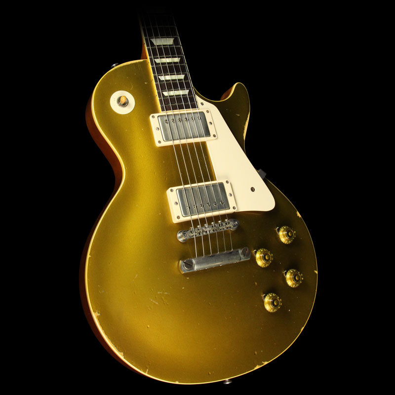 Used 2014 Gibson Custom Collector's Choice #12 1957 Les Paul Electric Guitar Goldtop CC12A 069