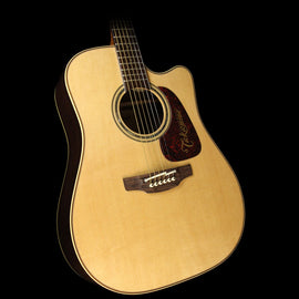 Used Takamine P5DC Dreadnought Acoustic-Electric Guitar Natural