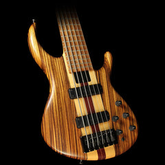 Used Tobias Killer B 6-String Electric Bass Guitar Natural Zebrawood
