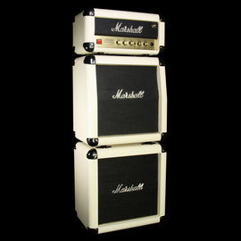 Used Marshall JCM-1H 50th Anniversary Limited Edition Head and Cabinet Mini Stack