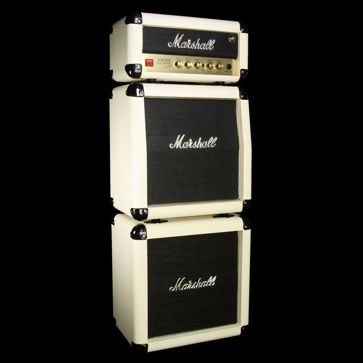 Used Marshall JCM-1H 50th Anniversary Limited Edition Head and Cabinet Mini Stack M20134001712