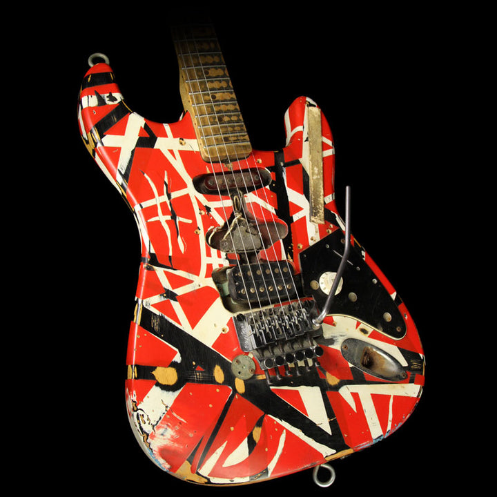 Used 2007 EVH Limited Edition Frankenstein Replica Electric Guitar Frankenstein Stripe XN24533