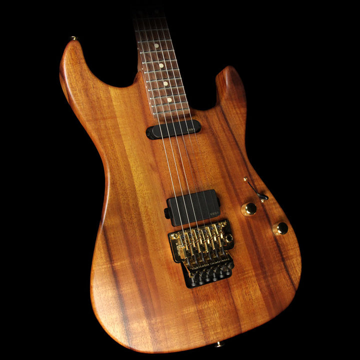 Used 2013 Suhr Standard Koa Electric Guitar Natural Oil 18863
