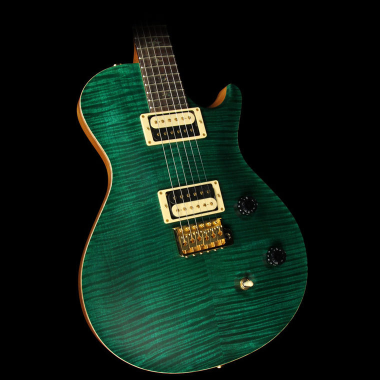 Used 2007 Paul Reed Smith Singlecut Trem Artist Package Electric Guitar Emerald Green Satin