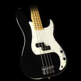 Used Fender Standard Precision Bass Electric Bass Guitar Black