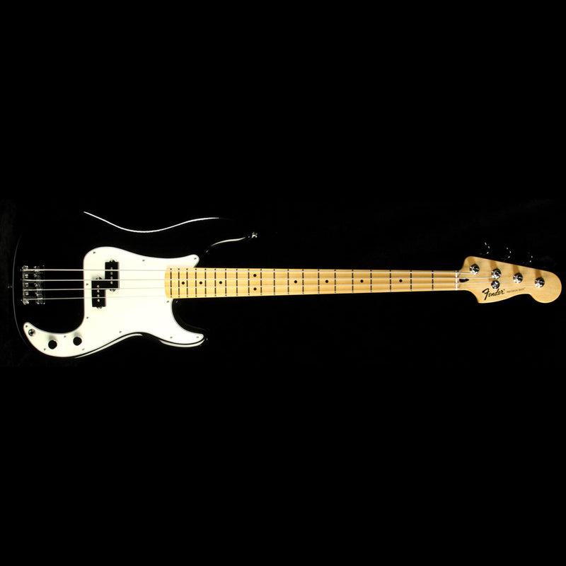 Used Fender Standard Precision Bass Electric Bass Guitar Black MX12088096