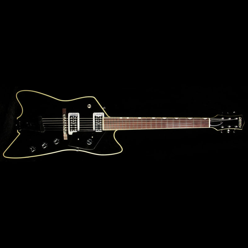 Used 2013 Gretsch Billy Bo Reverse Electric Guitar Black JT13073286