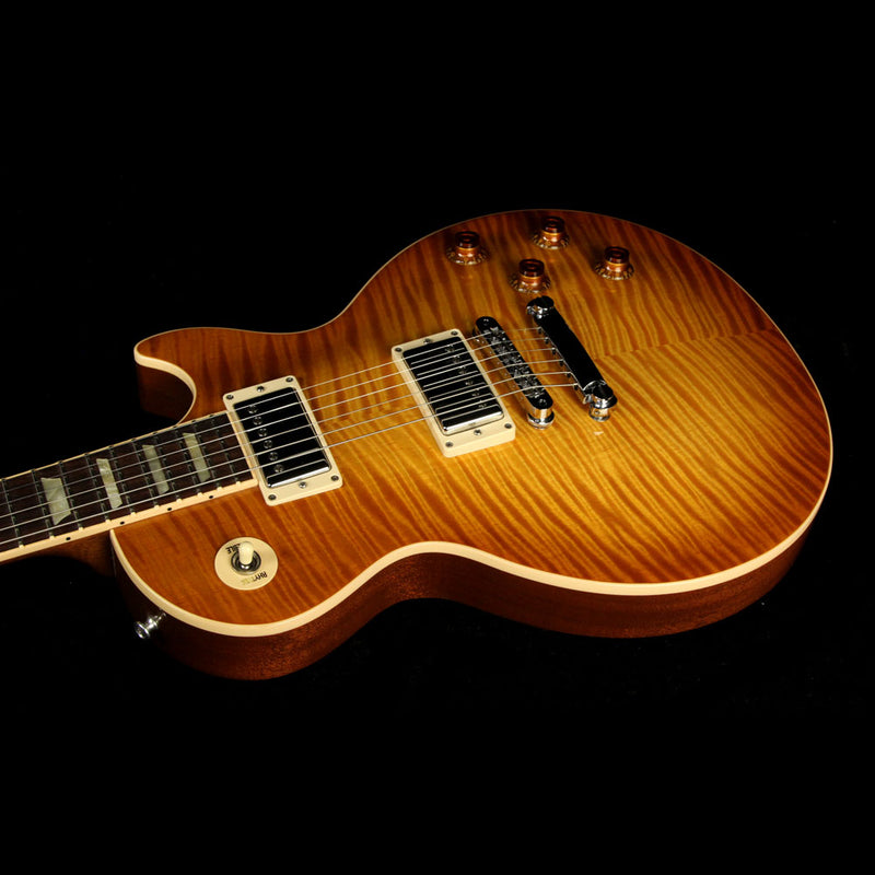 Used 2012 Gibson Les Paul Standard Plus Electric Guitar Honey Burst 108620513