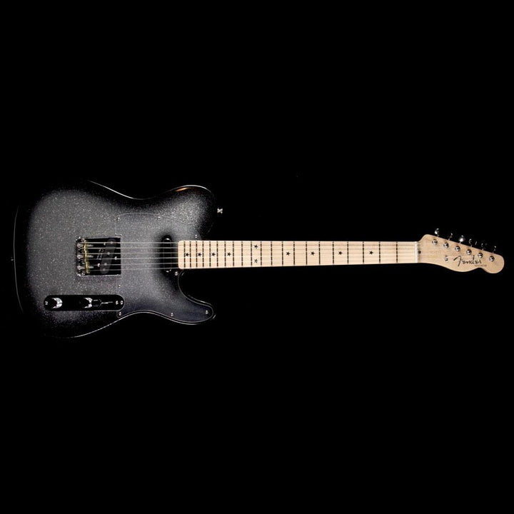 Fender Custom Shop Alan Hamel Founders Design Sparkle Telecaster Black Sparkle Burst AH9642