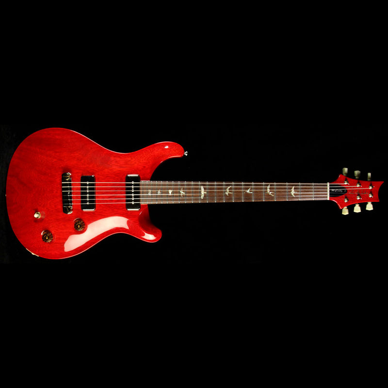 Used 2007 Paul Reed Smith Korina McCarty Soapbar Electric Guitar Vintage Cherry with Brazilian Rosewood Fretboard 127687