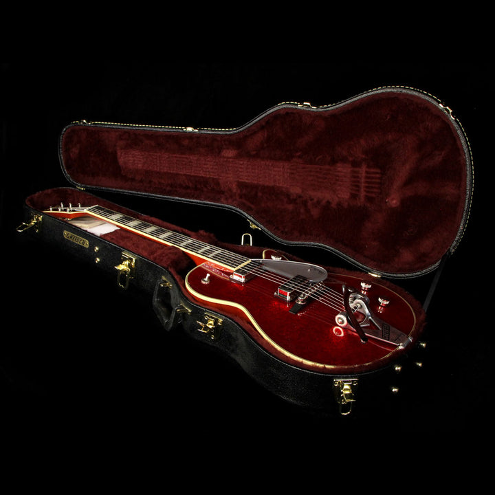 Used 2015 Gretsch G6129T-RDSP-LTD15 Duo Jet Electric Guitar Red Sparkle JT563169