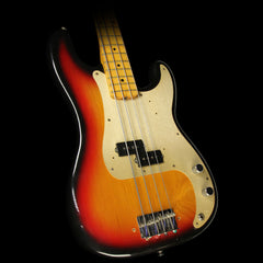 Used 1958 Fender Precision Bass Electric Bass Refinished 3-Tone Sunburst