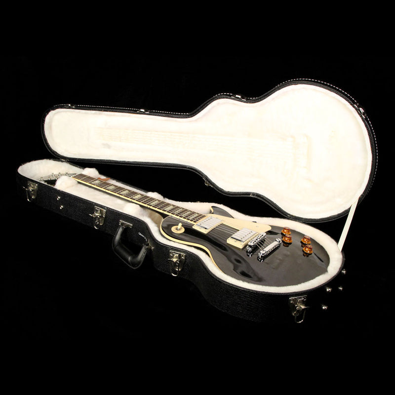 Used 2012 Gibson Les Paul Standard Electric Guitar Ebony 112620365