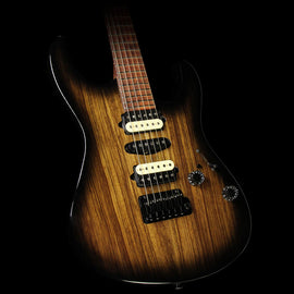 Used 2015 Suhr Modern Electric Guitar Black Burst
