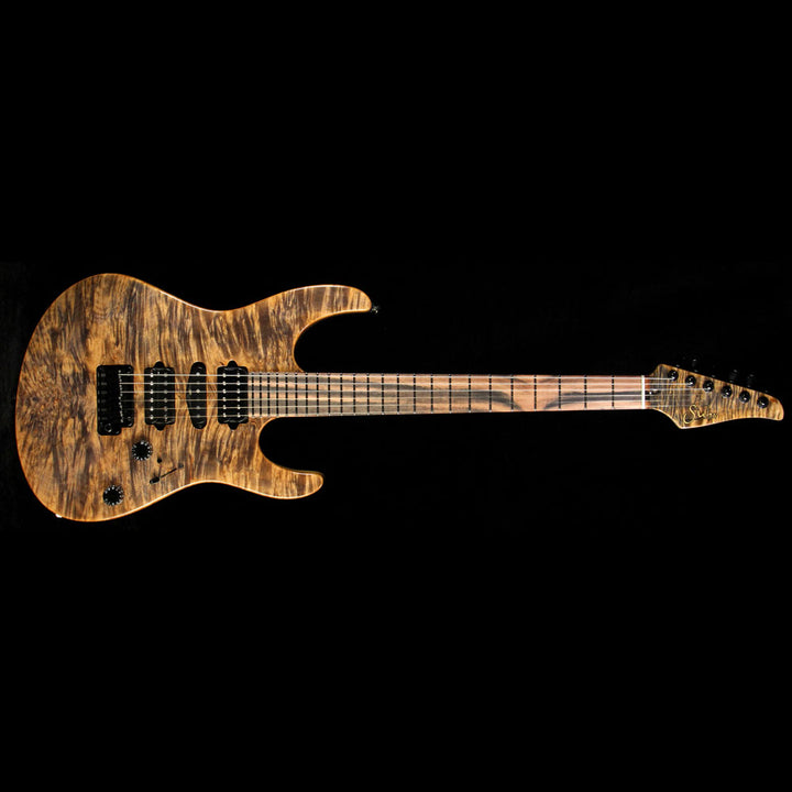 Used 2014 Suhr Modern Electric Guitar Trans Brown 25341