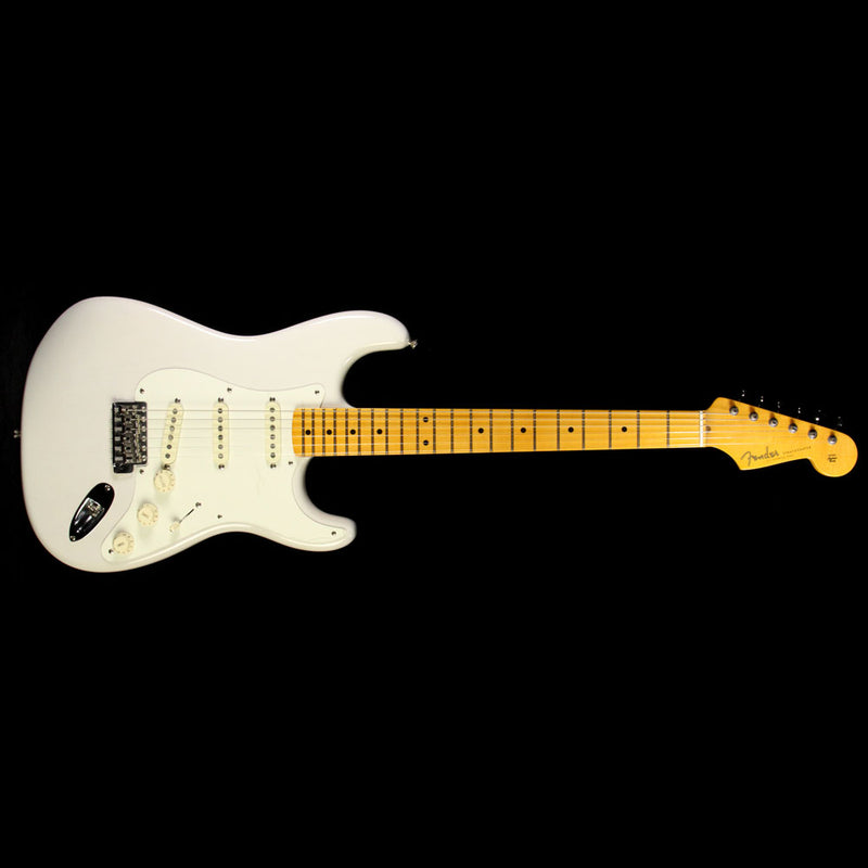 Used Fender Eric Johnson Stratocaster Electric Guitar White Blonde EJ14642