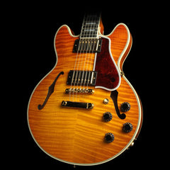Used 2014 Gibson Custom Shop CS-356 Electric Guitar Honey Amber