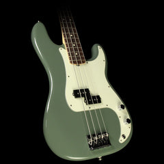 Fender American Professional Precision Bass Electric Bass Antique Olive