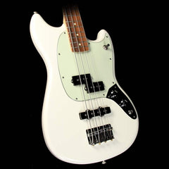 Fender Mustang Bass PJ  Electric Bass Olympic White