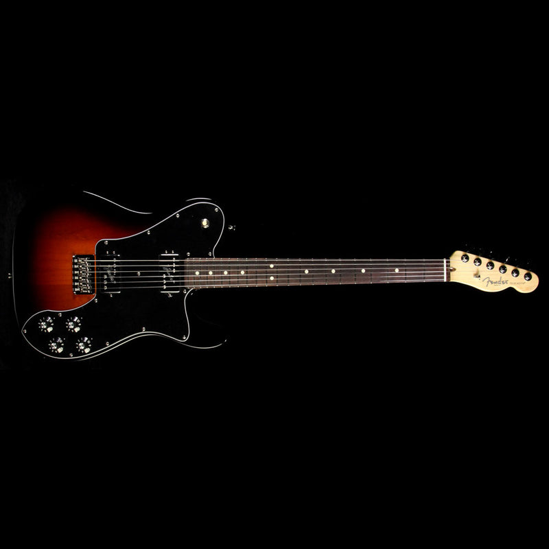 Used Fender American Pro Telecaster Deluxe Shawbucker Electric Guitar  3-Color Sunburst 0113080700