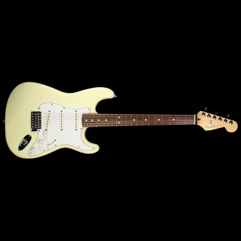 Used 1994 Fender Waynes World 2 Stratocaster Electric Guitar Olympic White MN404045