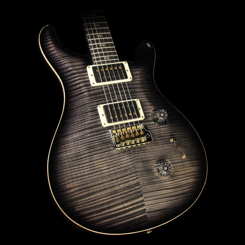 Paul Reed Smith Custom 24 Artist Package Electric Guitar Charcoal Burst with Matching Neck Burst 239344
