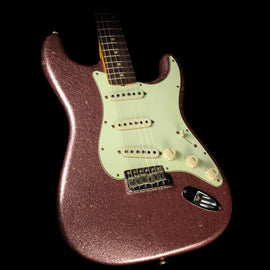 Fender Custom Shop '63 Stratocaster Journeyman Relic Electric Guitar Champagne Sparkle